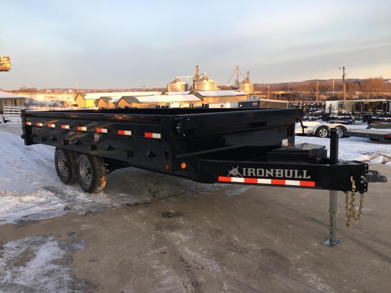 2018 Iron Bull 96X16 Deckover Dump Trailer