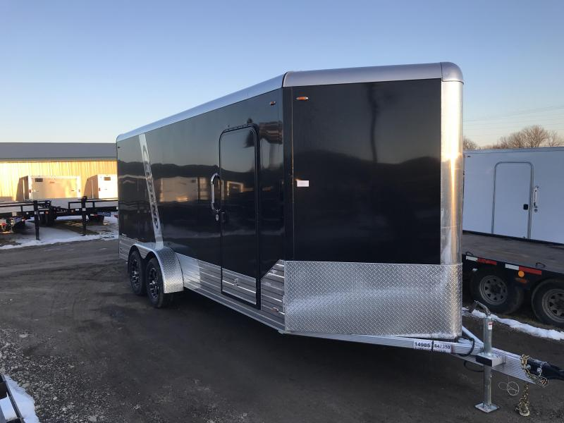 2018 Legend Manufacturing 7X18 Aluminum Enclosed Cargo Trailer