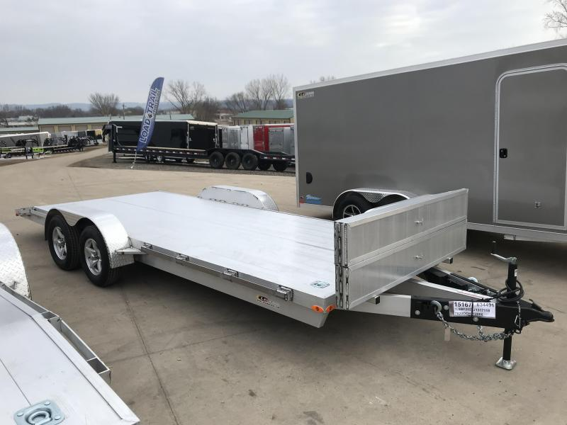 2018 Legend Manufacturing 7X20 Aluminum Car Hauler