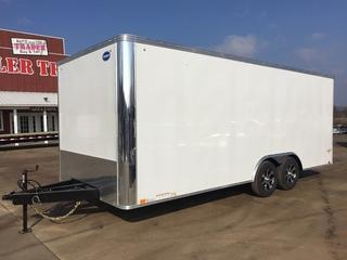 2018 United Trailers 8.5x20 10K Enclosed Cargo Trailer
