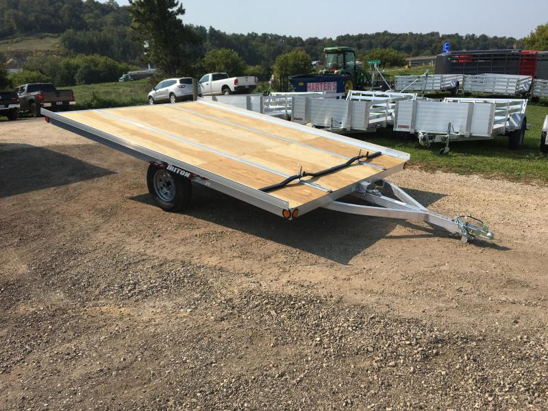 2018 Triton 101X12 2 Place Snowmobile Trailer