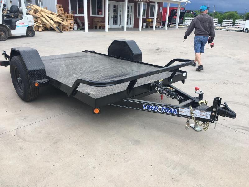 2018 Load Trail 77X12 Scissor Hauler Equipment Trailer