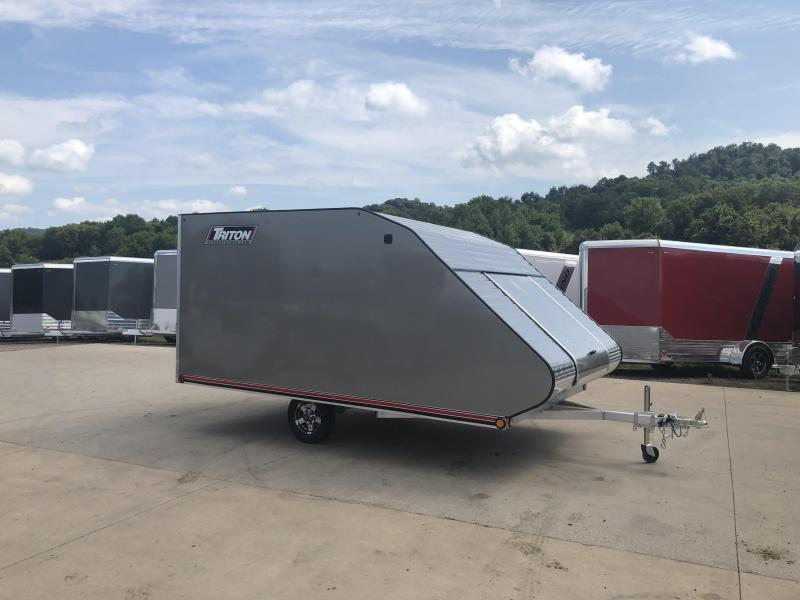 2019 Triton 101X12 Hybrid Snowmobile Trailer