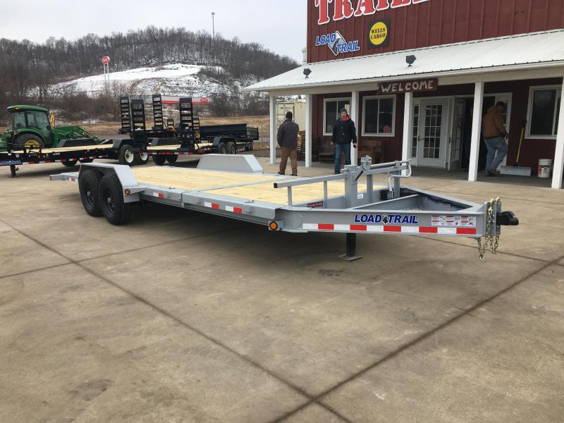 2018 Load Trail 83X22 Low Pro Gravity Tilt Equipment Trailer