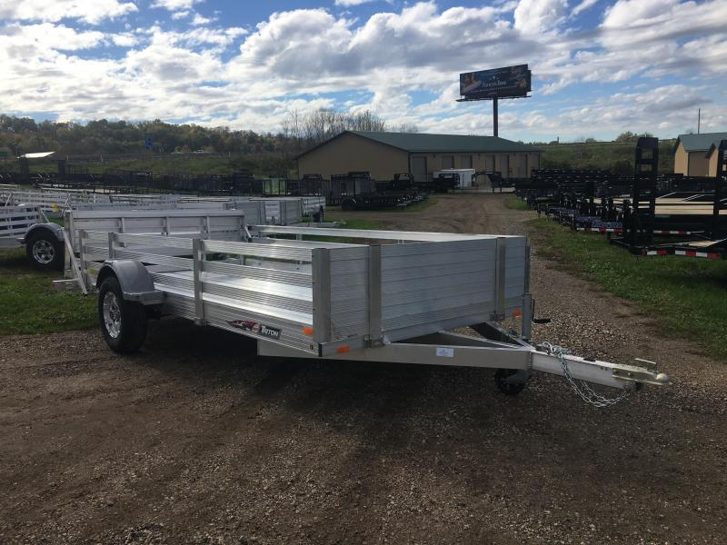 2019 Triton 82X14 Aluminum Utility Trailer