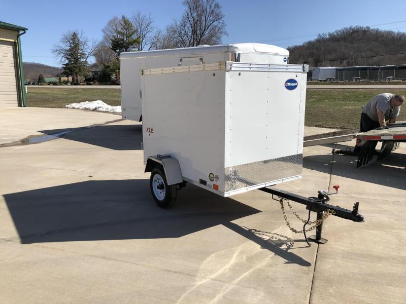 2019 United Trailers 4X6 Enclosed Cargo Trailer