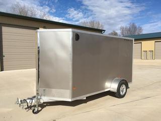 2017 Stealth 6X12 Aluminum 3K Enclosed Cargo Trailer