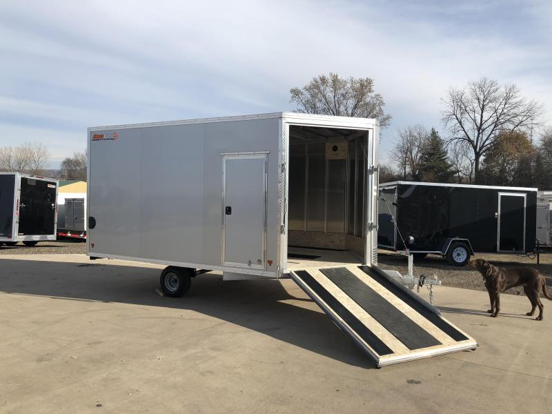 2018 Snopro 101X12 Snowmobile Trailer
