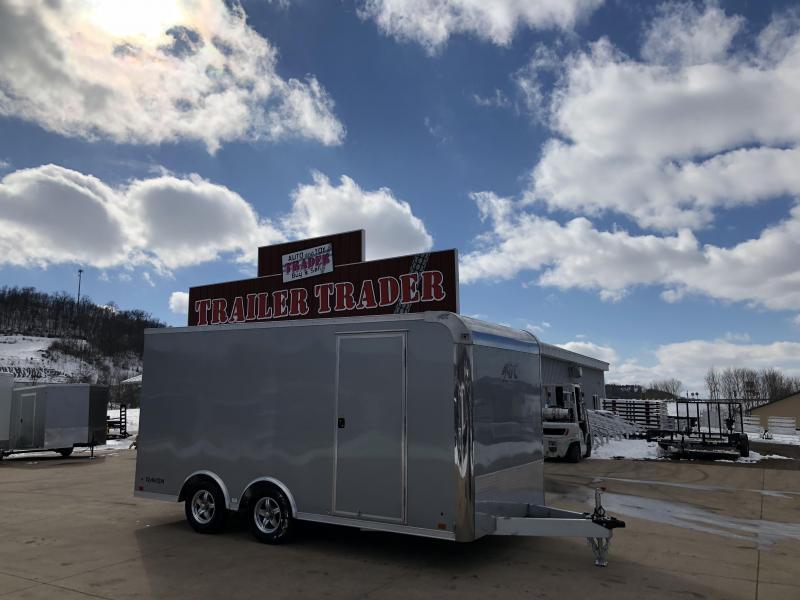 2018 Aluminum Trailer Company 8.5X16 Aluminum Enclosed Cargo Trailer