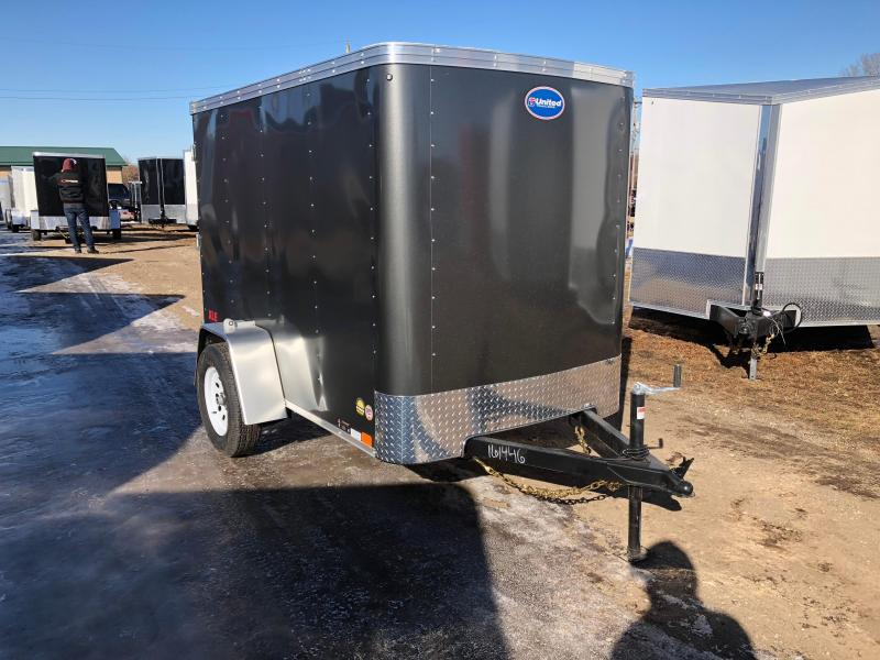 2018 United Trailers 5X8 Enclosed Cargo Trailer