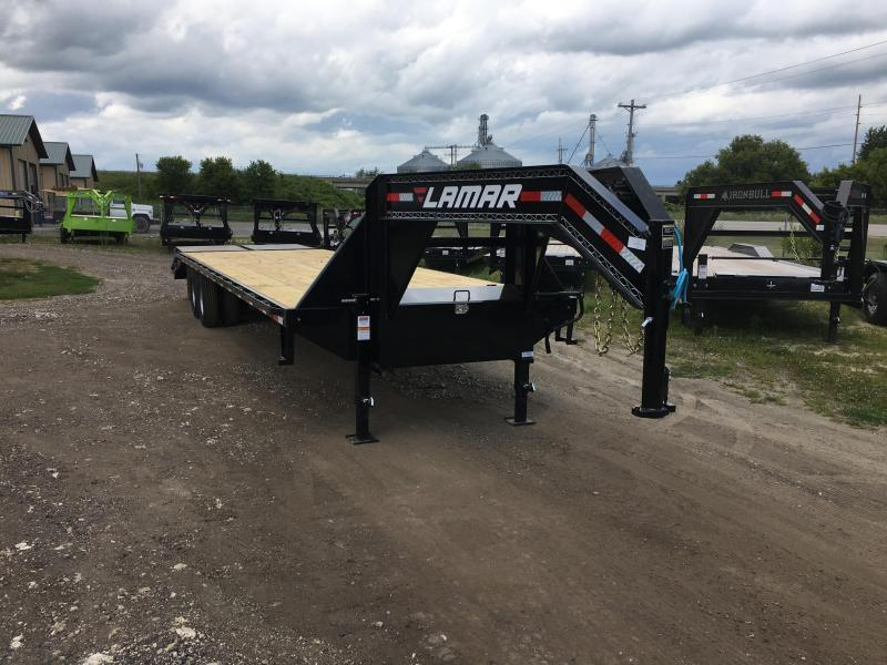 2018 Lamar Trailers 102X32 Gooseneck Deckover Equipment Trailer