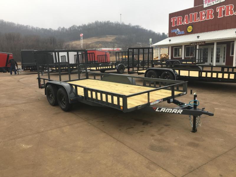 2018 Lamar Trailers 83X16 Tandem Utility Trailer
