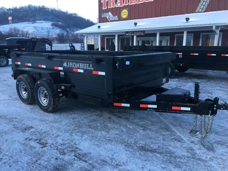 2018 Iron Bull 83X12 Low Pro Dump Trailer