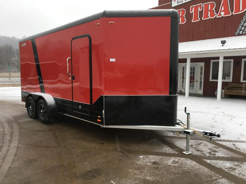 2018 Legend Manufacturing 7X16 Aluminum Enclosed Cargo Trailer