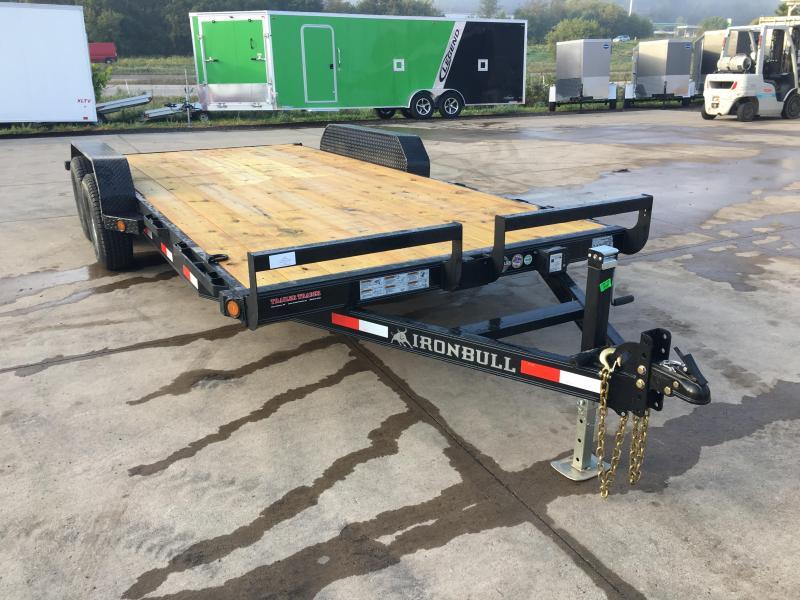 2017 Iron Bull 83X18 Car Hauler