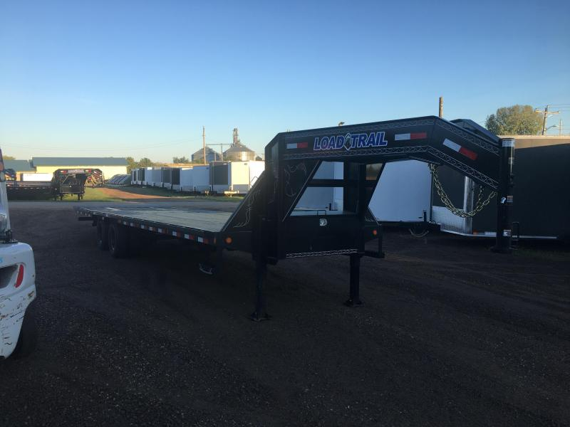 2019 Load Trail 102X32 Gooseneck Hydro Dove Equipment Trailer