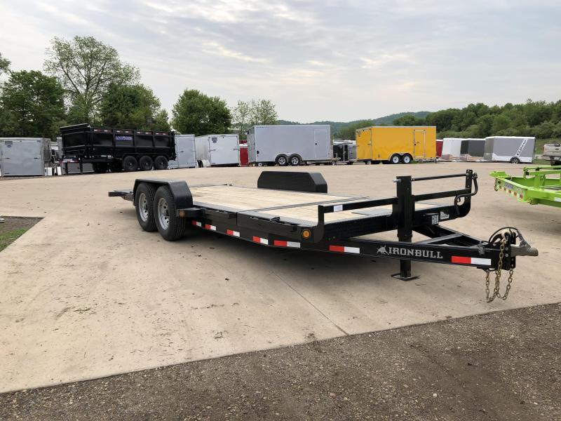 2018 Iron Bull 83X20 Gravity Tilt Deck Equipment Trailer
