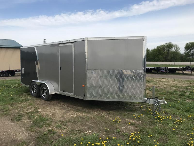 2016 NEO Trailers 7X23 Inline Snowmobile Trailer
