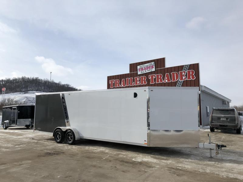 2018 Legend Manufacturing 7X29 Inline Snowmobile Trailer