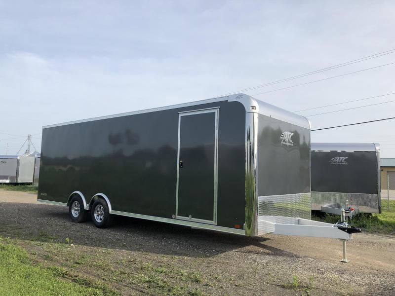 2019 Aluminum Trailer Company 8.5X24 Aluminum Enclosed Cargo Trailer