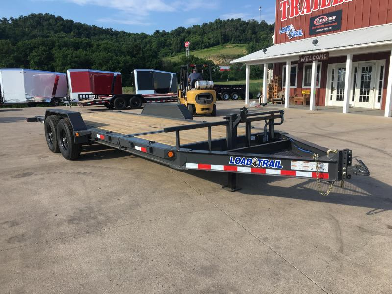 2018 Load Trail 83X20 Gravity Tilt Equipment Trailer