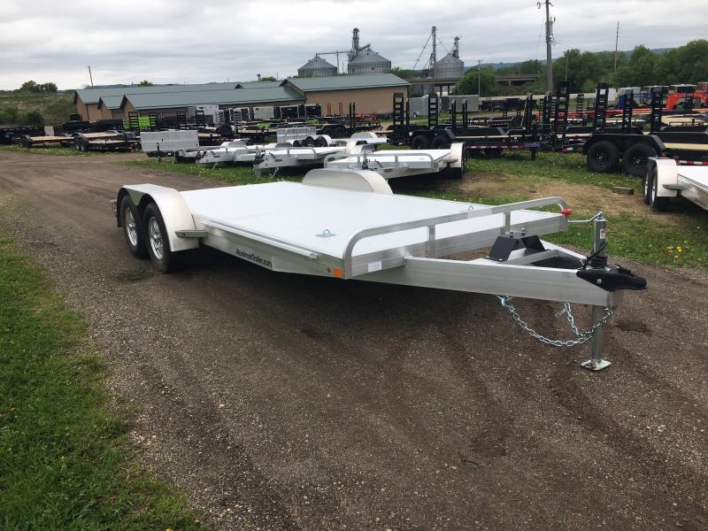 2018 Aluminum Trailer Company 82X18 Aluminum Car Hauler
