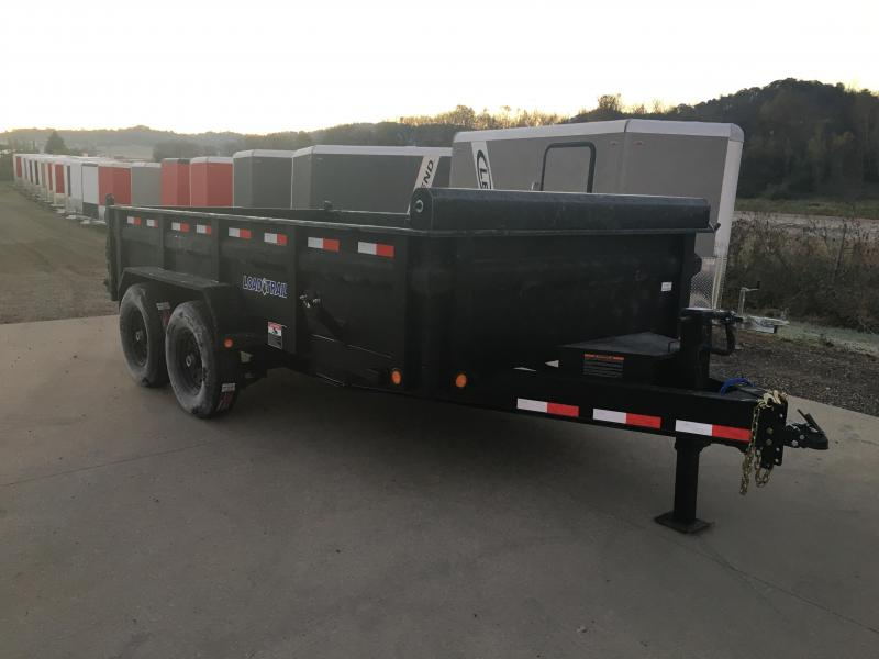 2019 Load Trail 83X14 Low Pro Dump Trailer
