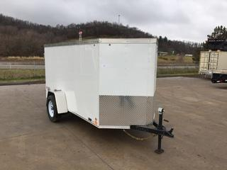 2017 United 5X10 3K Enclosed Cargo Trailer