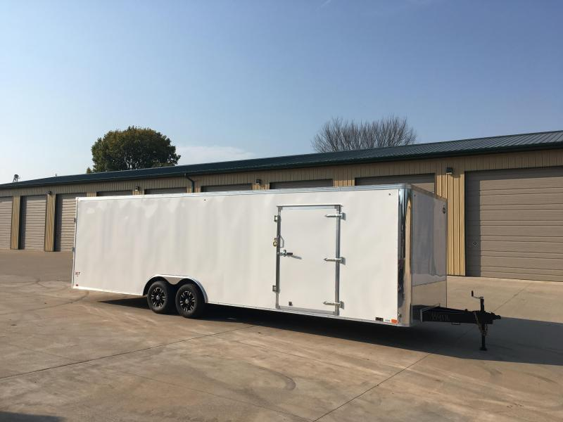 2018 United Trailers 8.5X28 Enclosed Race Cargo Trailer