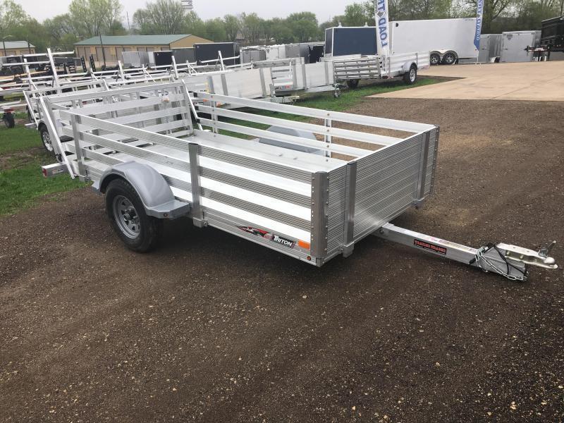 2018 Triton 64X10 Aluminum Utility Trailer