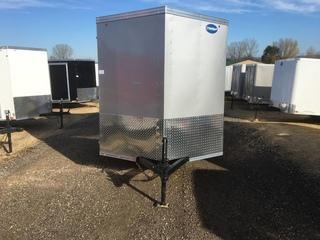 2017 United 6X10 3K Enclosed Cargo Trailer