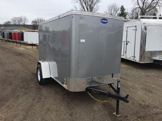2017 United Trailers 5x10 3K Enclosed Cargo Trailer