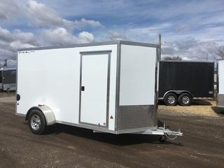 2017 Stealth 6X12 Aluminum 3K Enclosed Cargo Trailer