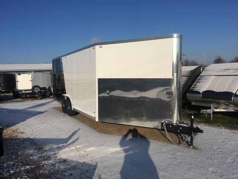 2019 Legend Manufacturing 8.5X26 Aluminum Snowmobile Trailer