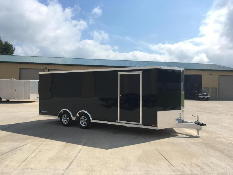 2018 ATC 8.5X20 Aluminum Enclosed Cargo Trailer