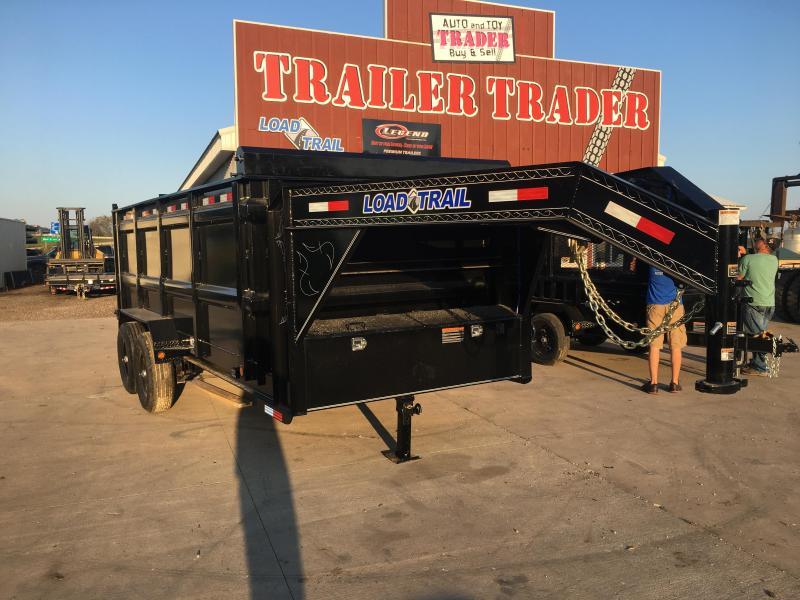 2019 Load Trail 83X16 Gooseneck Dump Trailer