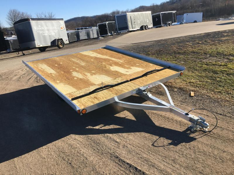 2019 Triton 101X10 2 Place Snowmobile Trailer