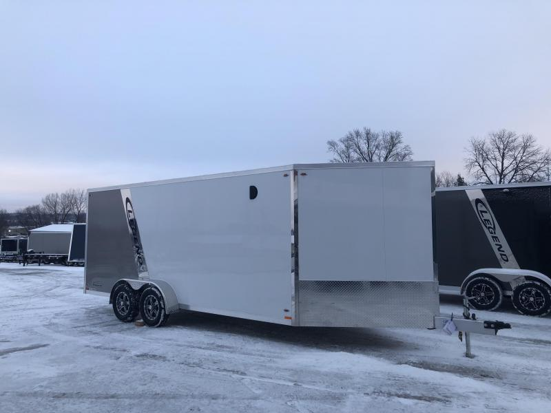2018 Legend Manufacturing 7X23 Inline Snowmobile Trailer
