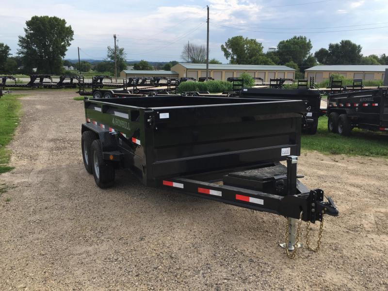 2017 Iron Bull 83X12 Low Pro Dump Trailer
