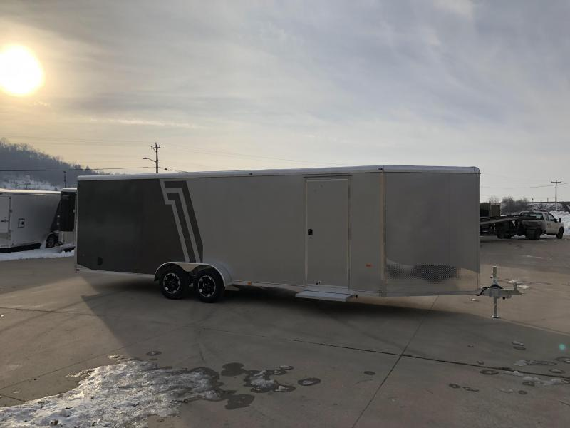 2019 NEO Trailers 7X28 Inline Snowmobile Trailer