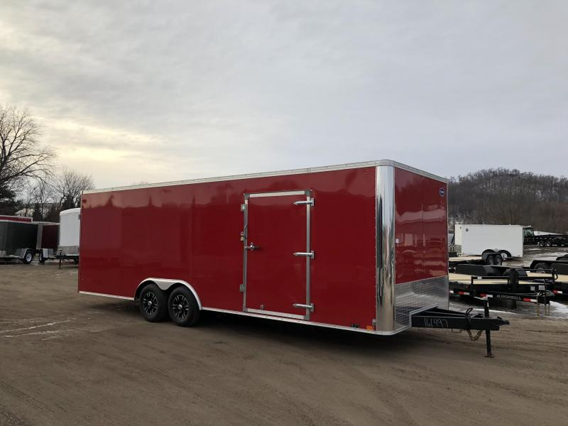 2018 United Trailers 8.5X24 Race Enclosed Cargo Trailer