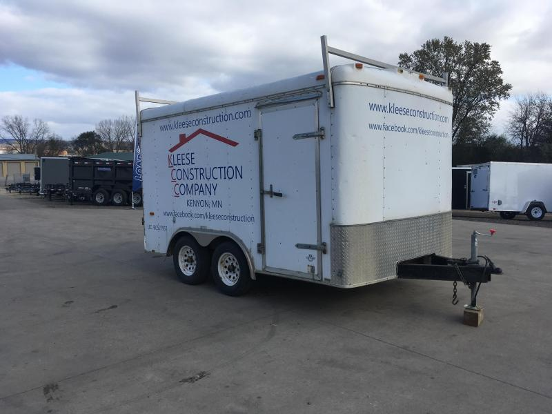 2002 Interstate 8.5X14 Enclosed Cargo Trailer