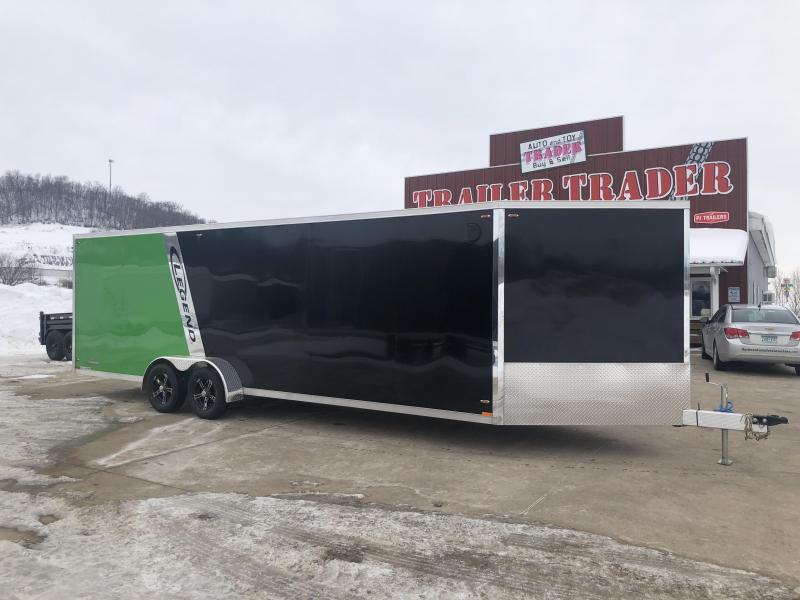 2019 Legend Manufacturing 7X29 Inline Snowmobile Trailer