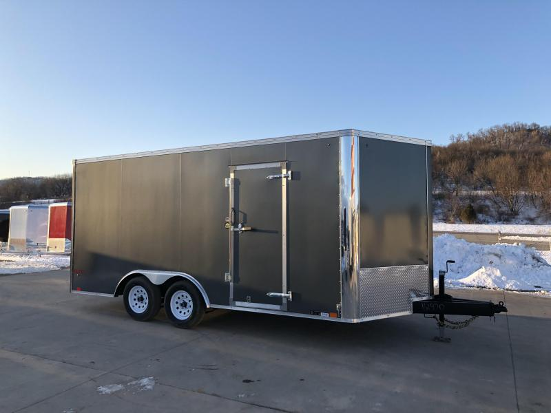 2018 United Trailers 8.5X16 Enclosed Cargo Trailer