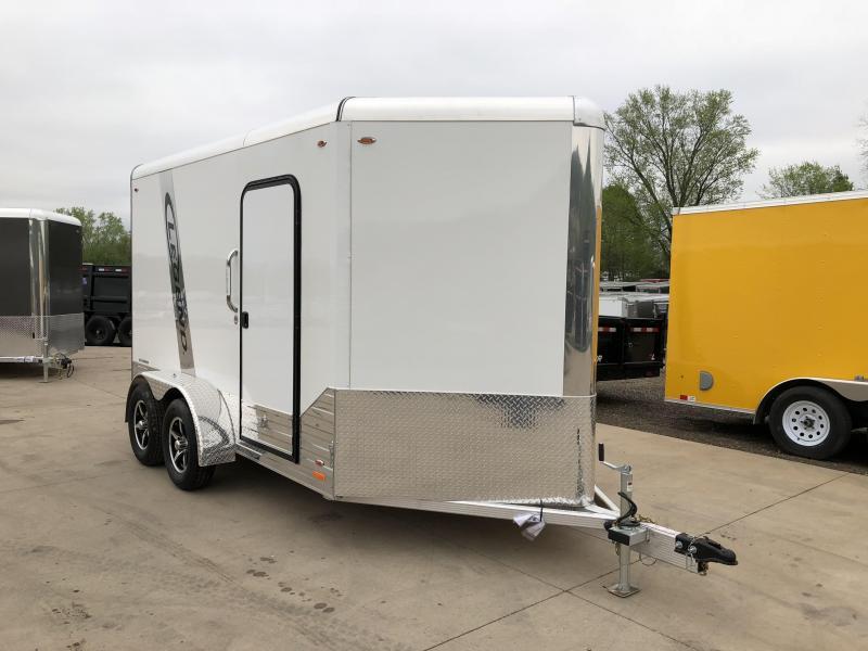 2018 Legend Manufacturing 7X12 Aluminum Enclosed Cargo Trailer