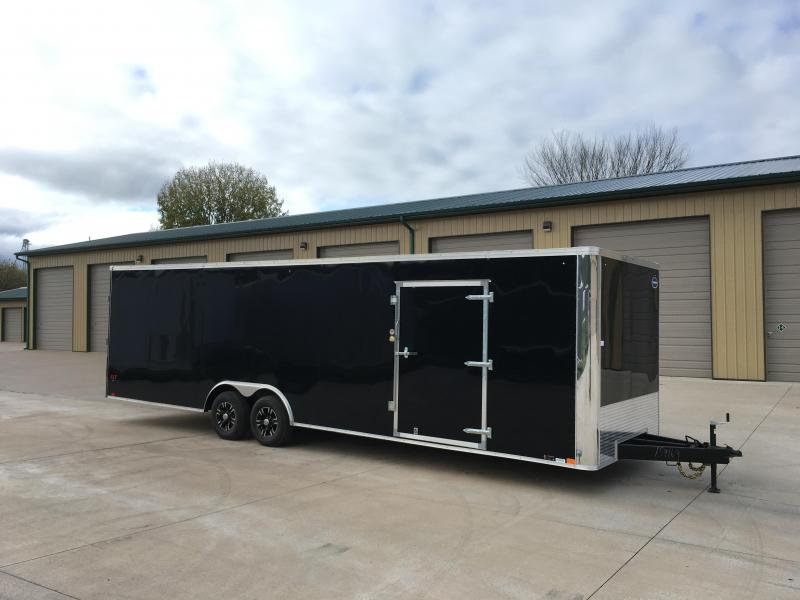 2019 United Trailers 8.5X28 Enclosed Race Cargo Trailer
