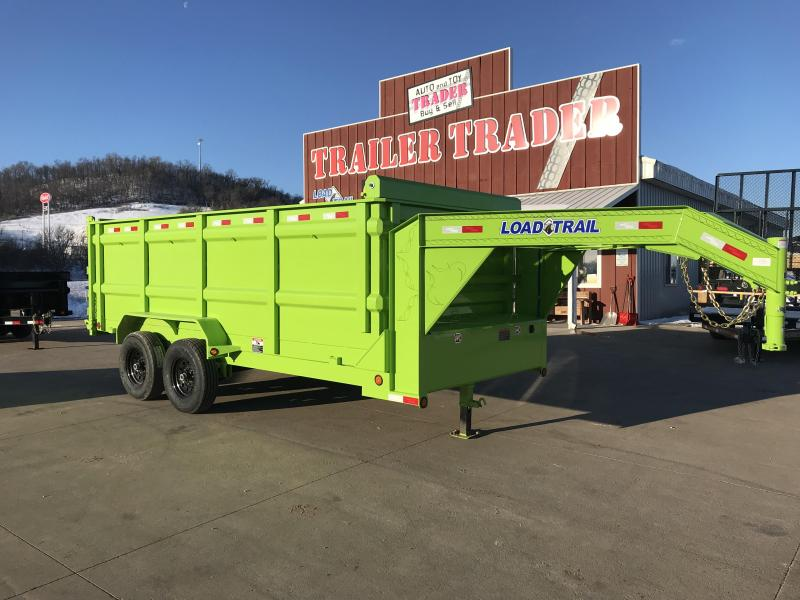 2018 Load Trail 83X16 Gooseneck Dump Trailer
