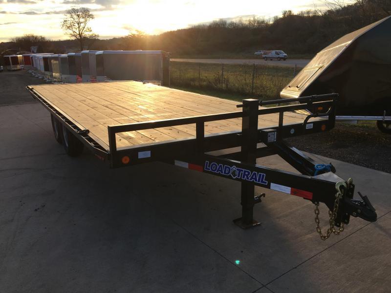 2018 Load Trail 102X20 Deckover Equipment Trailer