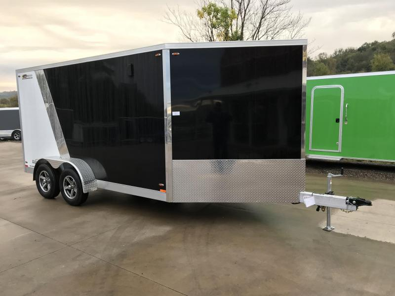 2018 Legend Manufacturing 7X19 Inline Snowmobile Trailer