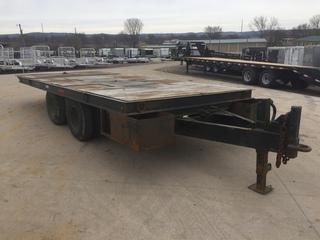 1974 Miller 96x20 16K Tilt Deck